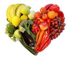 healthy veg plate